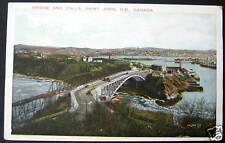 Canada~1900's SAINT JOHN N.B.~ BRIDGE AND FALLS