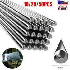 20/50pcs Low Temperature Aluminum Welding Solder Wire Brazing Repair Rods 2MM