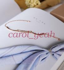 Japan korean style sweet fashion simple rose gold bracelet female birthday gift