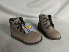 Toddlers Timberland Splash Blaster Grey Leather Boots Size Uk 7 Eu 24 NEW