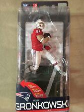 McFarlane NFL Series 36 Rob Gronkowski Retro Jersey Gold CL #402/500 Patriots