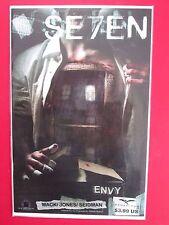 SE7EN #6 ENVY (VF+) DAVID SEIDMAN variant HTF 1st print! 2007 Zenescope Grimm