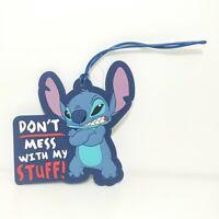 Disney Parks Stitch Dont Mess with My Stuff Luggage Tag Lilo & Stitch New