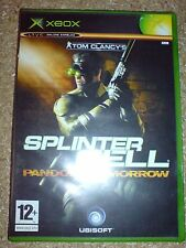 TOM CLANCY'S  SPLINTER CELL PANDORA TOMORROW VERSION 3 (XBOX) USED