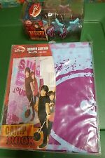 Disney Camp Rock Bathroom Shower Curtain 100% Polyester 70 x 72 & 12 Count Hooks