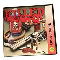Killed Until Dead Commodore 64/128 C64 Disk Game Murder Mystery Retro Untested