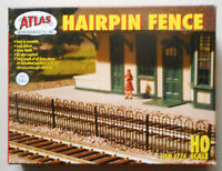 HAIRPIN FENCING HO SCALE ATLAS LAYOUT DIORAMA 774