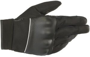 Alpinestars Vented Air Leather Street Motocycle Gloves Mens Black All Sizes