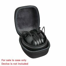 Peltor Sport Tactical 100 Hearing Protector Earmuff Hard Travel Storage Case Bag