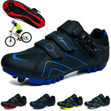 Professional MTB Cycling Shoes Mens Mountain Road Bicycle Sneakers Self-Locking