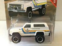 Matchbox POLICE CAR - 1989 CHEVY BLAZER 4x4 - #53/100 MBX RESCUE