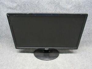 "Acer S201HL 20"" Full HD Widescreen Black Flat Panel LED LCD Monitor VGA/DVI"