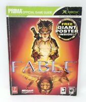 Fable Official Prima Games Strategy Game Guide