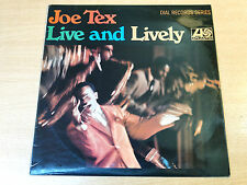 EX/EX !! Joe Tex/Live And Lively/1968 Atlantic Mono LP