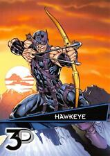 HAWKEYE / Marvel 3D (Upper Deck 2015) BASE Trading Card #08