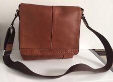 Coach Leather Messenger Shoulder Bag