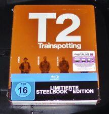 T2 Trainspotting Limited Embossed Steelbook Edition Blu Ray Nip