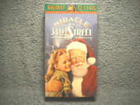 MIRACLE ON 34TH STREET - VHS - 20TH CENTURY FOX HOLIDAY CLASSICS - NEW SEALED