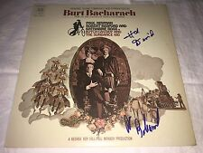 Burt Bacharach SIGNED Butch Cassidy & The Sundance Kid LP Album Hal David PROOF
