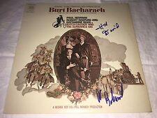 Burt Bacharach SIGNED Butch Cassidy & The Sundance Kid LP Album Hal David PROOF