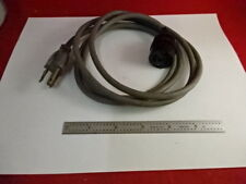 SM-LUX POWER CORD ELECTRICAL LEITZ GERMANY MICROSCOPE PART AS IS &3-B-30