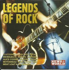 LEGENDS OF ROCK - VARIOUS ARTISTS - NoW PROMO MUSIC CD