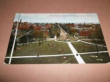 POSTCARD: PARLIAMENT BUILDING TORONTO  ~ REAL PHOTOGRAPH CIRCA 1913 POSTED