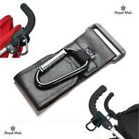 Universal Pushchair Clip Pram Buggy Shopping Bag Holder Hooks 1x - 5x UK Seller