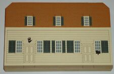 The Cat's Meow Meeting House Shaker Village Series wood shelf sitter 1995