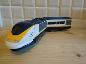 Tomy Trackmaster Class 373 Eurostar Train Power Car and Coach