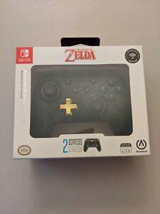 PowerA 1507564-01 Enhanced Wireless Controller for Nintendo Switch - Zelda