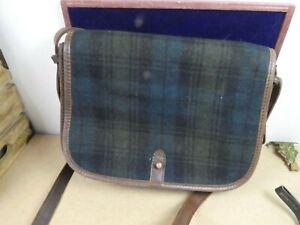 Levi's Green Tartan Unisex Bag with Long Handle
