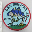US NAVY USS THREADFIN SS-410 SUBMARINE PATCH (Blue) Made for Veterans After WW2