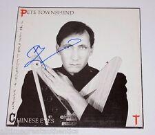 THE WHO Pete Townshend signiert Chinese Eyes Solo Album Vinyl Platte W / COA