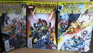 Ultron Forever Marvel #1's - Avengers-The New Avengers- Uncanny Avengers