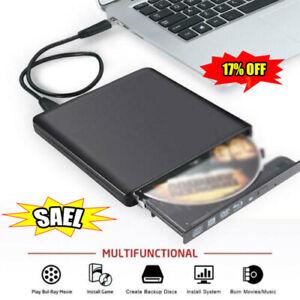 Externes Bluray Laufwerk USB3.0 Optischer Laufwerksbrenner Blu-Ray-Player CD NEU