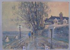 René Ligeron (1880-1946) - Belle gouache sur carton signé en bas à droite