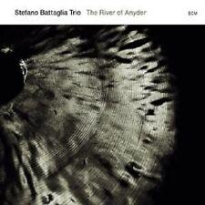 """STEFANO BATTAGLIA TRIO """"THE RIVER OF ANYDER"""" CD NEU"""