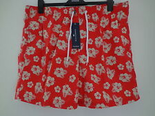 BNWT MENS M&S BLUE HARBOUR CORAL MIX SWIMMING SHORTS SIZE XXL