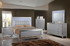 Classic Valentino Queen 6 Piece Lighted Bedroom Set 9698-310