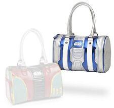 71DDAR2D2: Official Licensed Disney Star Wars Bowling Bag Style Purses (R2D2)