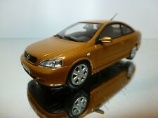 MINICHAMPS OPEL ASTRA COUPE 2000 - BROWN METALLIC 1:43 - EXCELLENT CONDITION -12