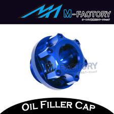 Blue CNC Engine Oil Filler Cap Plug Fit Yamaha MT-09 Tracer 2014-2017 14 15