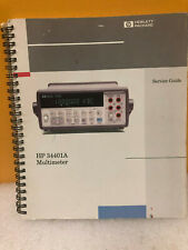 Hp 34401-90013 34401A Multimeter Service Guide