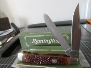 Remington Made In USA R10 Farmhand 2 Blade Pocket Knife NIB