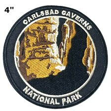 Carlsbad Caverns National Park Embroidered Patch Iron / Sew-on Vacation Applique