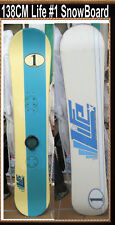 Snowboard Life Brand 138 CM Vintage Race Number One Snow Board Classic
