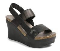 Pierre Dumas Hester Women's Strappy Platform Wedge Sandals Size 6 Black