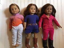 American Girl Dolls Mckenna Saig & Truly Me Doll Nice Lot