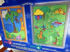 NEW LEARNING LINE SOLUTIONS for TUMMY TIME Reversible LEARNING JUNGLE COMFORTER
